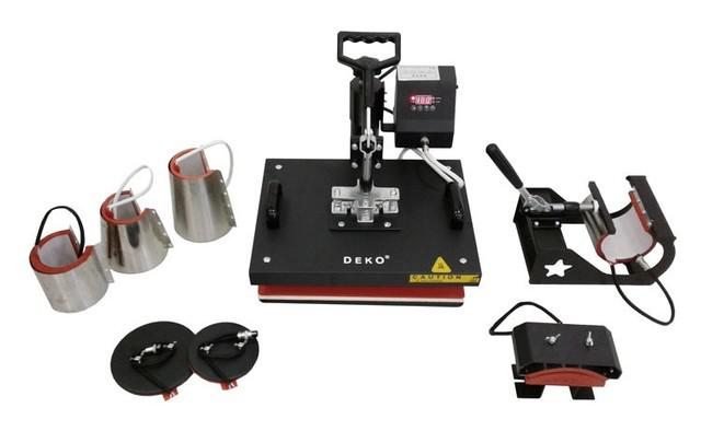 Combo prensa térmica digital 10 in 1 - 29x38cm deko