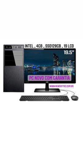 Computadores novos com garantia / nota fiscal