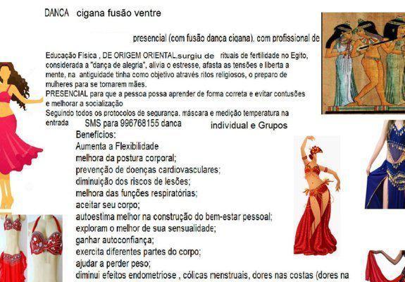 Dança cigana fusão