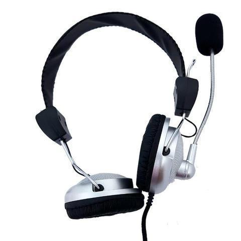 Fone de ouvido gamer c/ microfone ps3/ps4/pc/xbox sm-301-mv