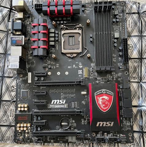 Kit placa mãe lga 1150 com core i7 4790k com 16gb de