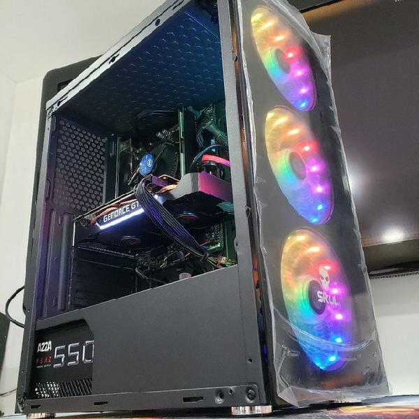Pc gamer 10 geração gt 1030 gtx 1050ti gtx 1650 rx 580