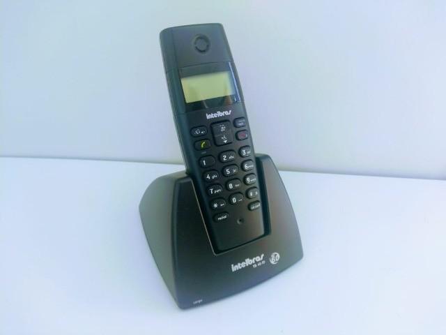 Telefone sem fio digital intelbras ts40id