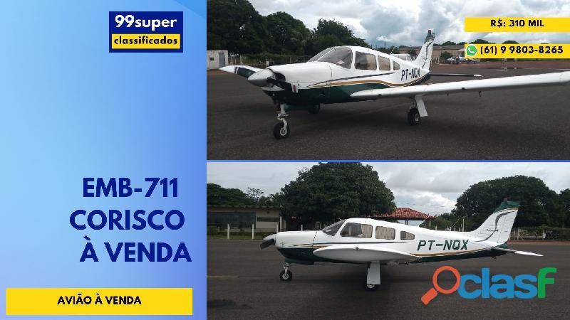 Avião Monomotor À Venda EMB 711 Corisco Embraer EMB 711 Corisco