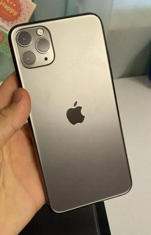 Iphone 11 pro max 256gb preto + nota fiscal apple +