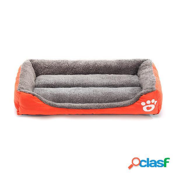 Xxxl pet cachorro cama de gato cachorrinho almofada casa pet soft canil quente cachorro cobertor tapete