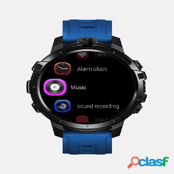 Android 10 os face unlock 4g smart watch wi-fi gps long standby 4g lte global bands watch phone