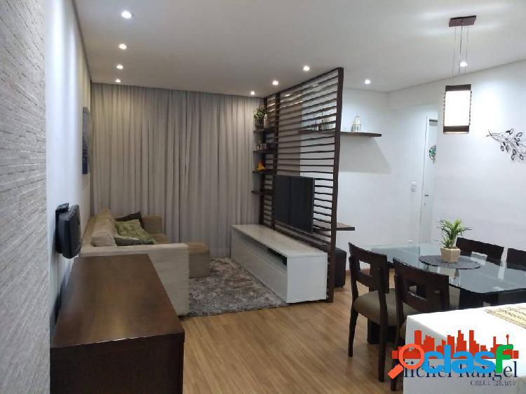 Apartamento a venda no condominio são cristovão | 54,87m² - 1 vaga livre