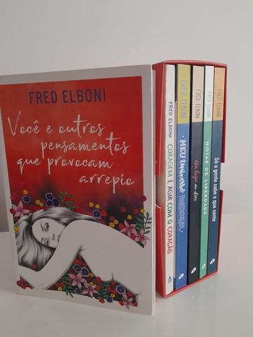 Box 6 livros fred elboni