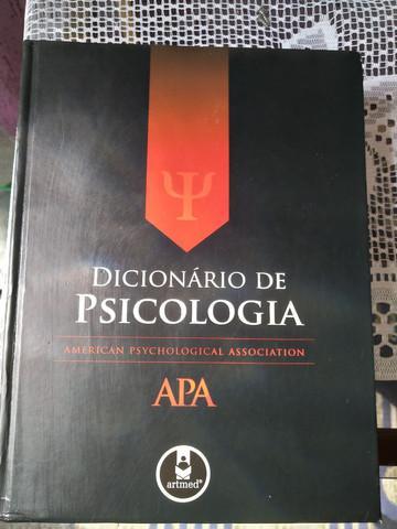 Dicionário de psicologia apa