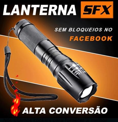 Lanterna militar tática sfx