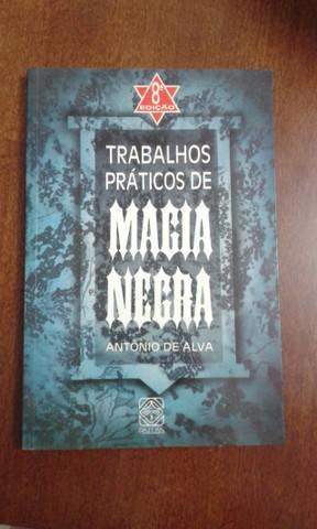 Livro raro trabalhos práticos de magia negra