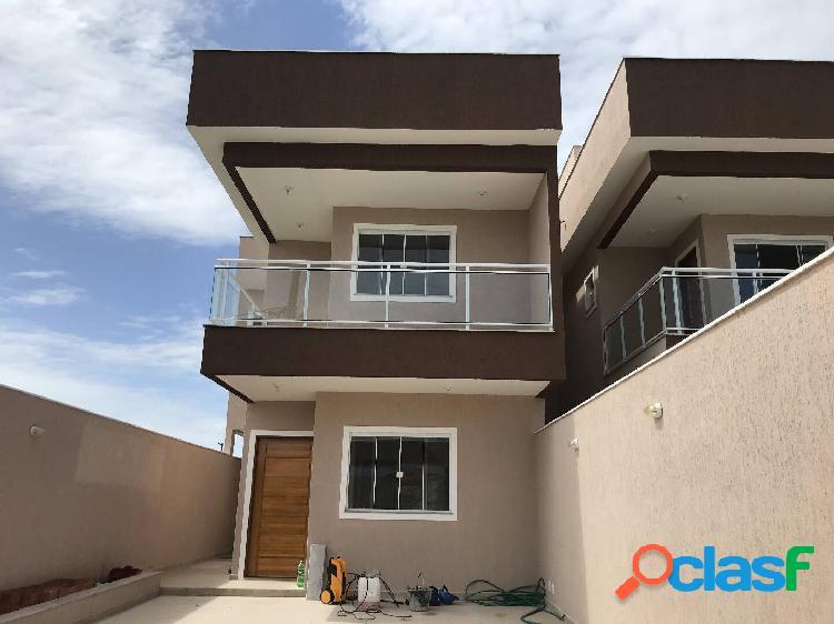 Excelentes casas alto padrão de 3 quartos em itaipuaçu