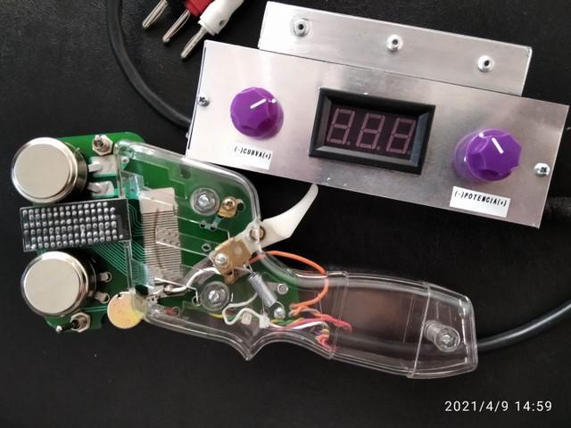 Acelerador autorama slot-control modelo crt01