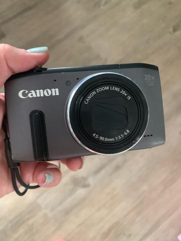 Câmara de fotografia canon digital