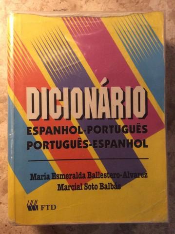 Dicionário espanhol português usado