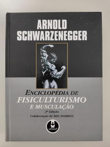 Livro enciclopédia de fisiculturismo e musculação