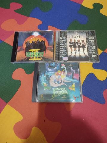 Lote cds filmes internacionais