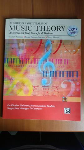 Teoria musical - alfred's (novíssimo) com 2 cd's