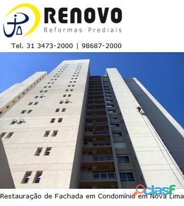 Responsabilidade civil do síndico e do condomínio na falta de manutenção da fachada belo horizonte