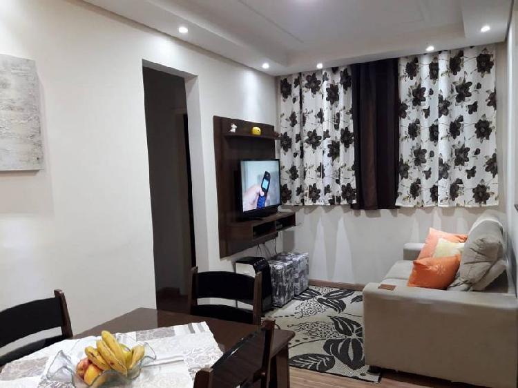Apartamento em americana-sp - 50 metros quadrados com 2