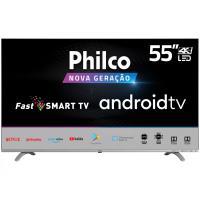 "App] [parcelado] smart tv android 55"" philco 4k uhd d"