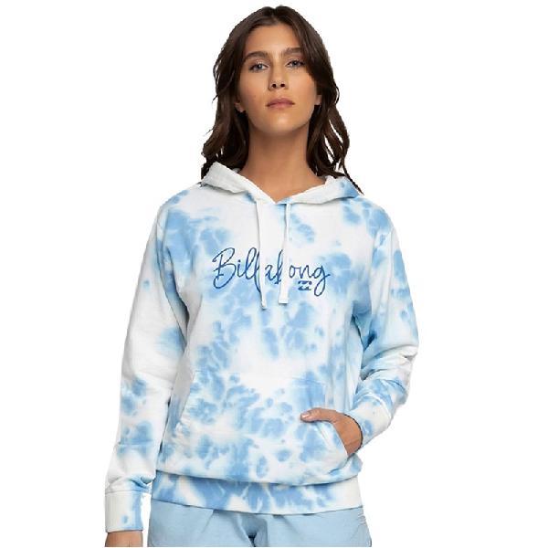 Moletom billabong surf vibemsp tie dye azul - surf alive