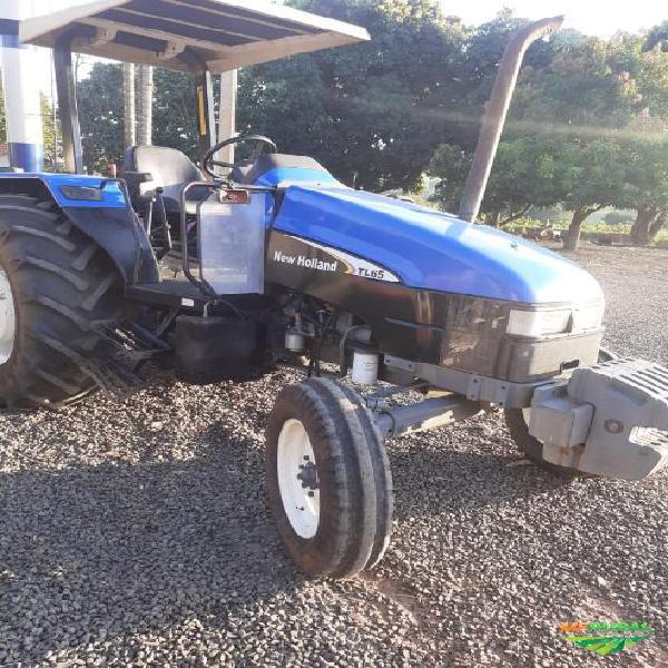 Trator new holland tl 65 f 4x2 ano 02