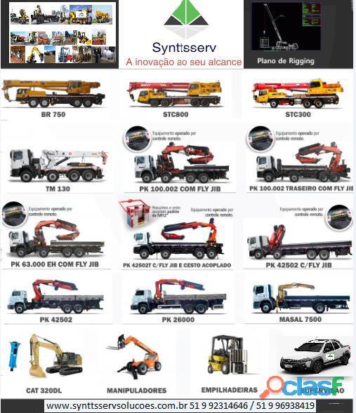 Transporte pesado porto alegre 51 9 96938419 synttsserv