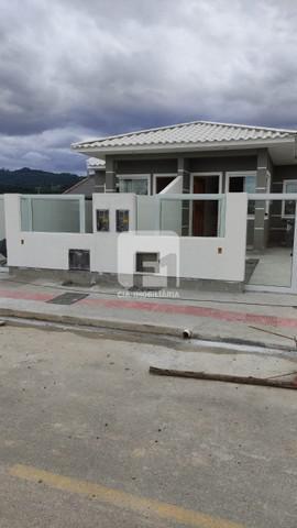 Casa à venda com 2 dormitórios em bela vista, palhoça