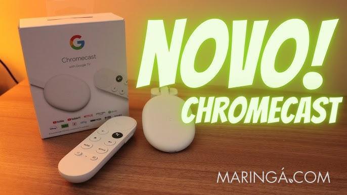Chromecast em Maringá, Novo Chromecast With Google TV com