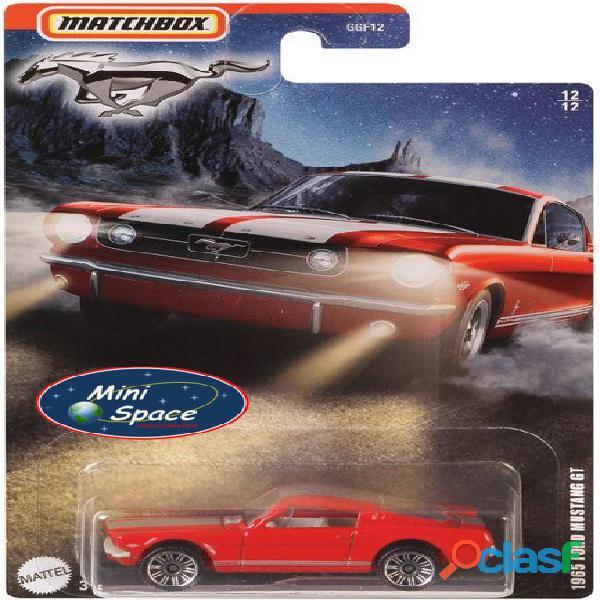 Matchbox 1965 Ford Mustang GT cor Vermelho 1/64 1