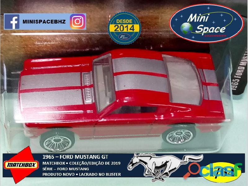 Matchbox 1965 Ford Mustang GT cor Vermelho 1/64 2