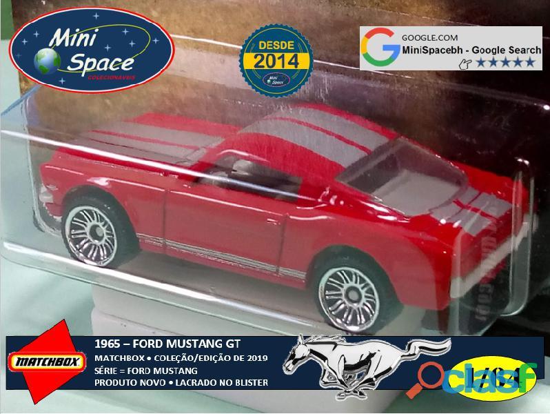 Matchbox 1965 Ford Mustang GT cor Vermelho 1/64 3