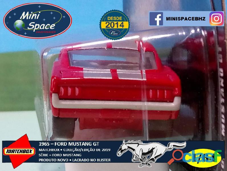 Matchbox 1965 Ford Mustang GT cor Vermelho 1/64 5