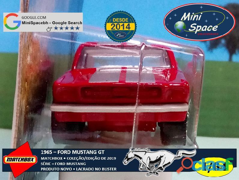 Matchbox 1965 Ford Mustang GT cor Vermelho 1/64 6