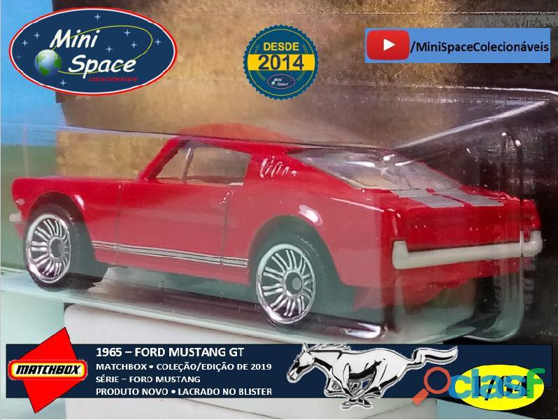 Matchbox 1965 Ford Mustang GT cor Vermelho 1/64 7