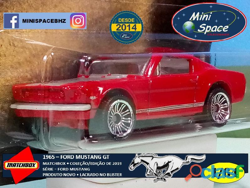 Matchbox 1965 Ford Mustang GT cor Vermelho 1/64 8