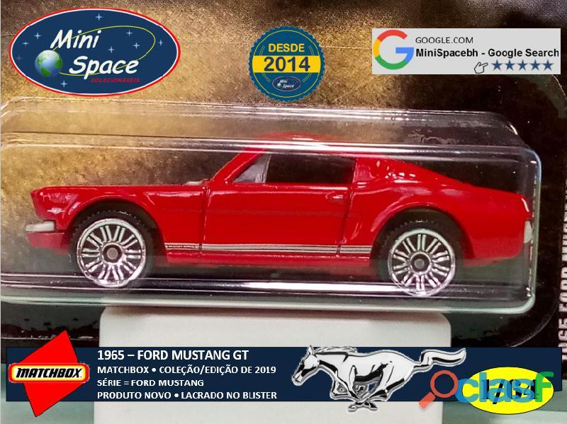 Matchbox 1965 Ford Mustang GT cor Vermelho 1/64 9
