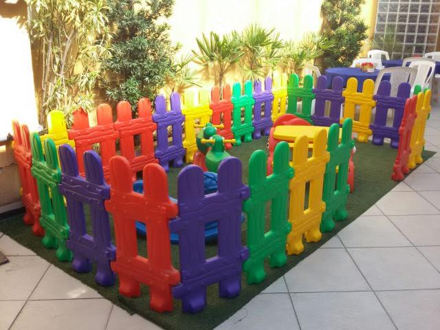 6 peças cercadinho área baby infantil (temos 24 peças)-