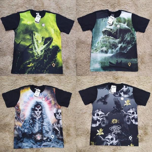 Camisas multimarcas.