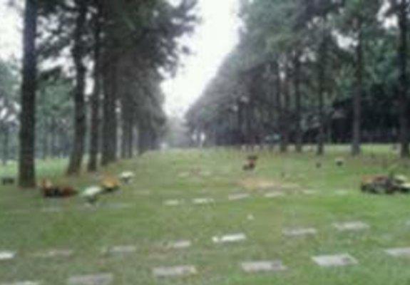Jazigo clássico 3 gavetas - terreno cemitério parque