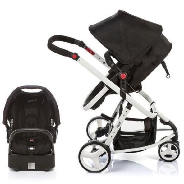 Kit travel system 1ts mobi black white safety