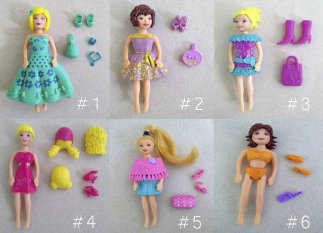 Polly pocket - diversos