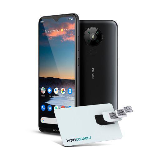 Smartphone Nokia 5.3 128GB Dual SIM, 4GB RAM, Tela 6,55 Pol.