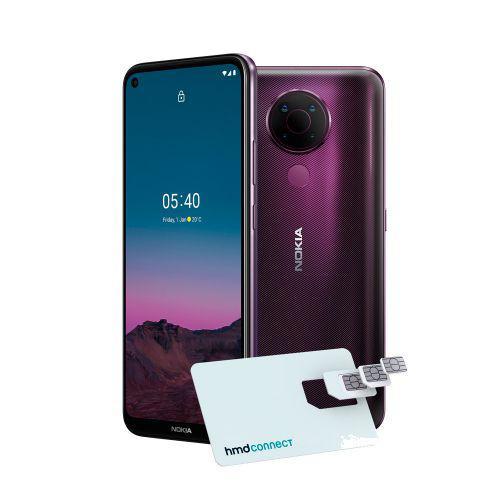 Smartphone Nokia 5.4 128GB Dual SIM, 4GB RAM, Tela 6,39 Pol.