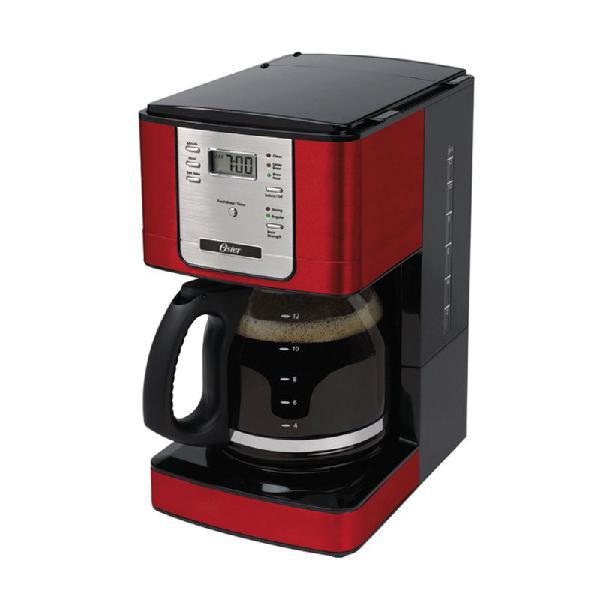 Cafeteira Oster Programável Flavor 127v Vermelha 1,8L com