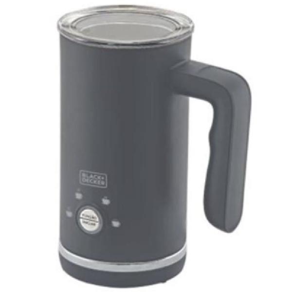 Espumador de leite em inox black&decker gourmand gris 4