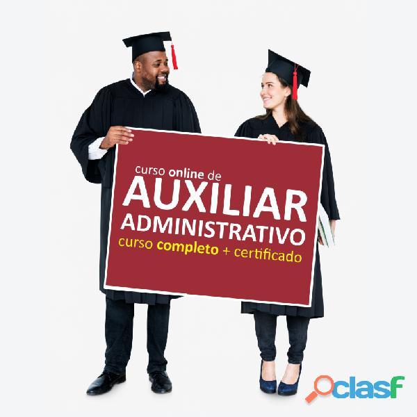 Curso Online de Auxiliar Administrativo