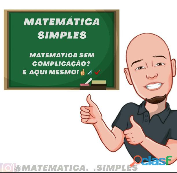 Matemática para ensino fundamental, médio e superior